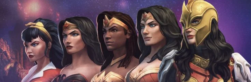 DC Universe Online unveils a release date and new key art for the Wonderverse update