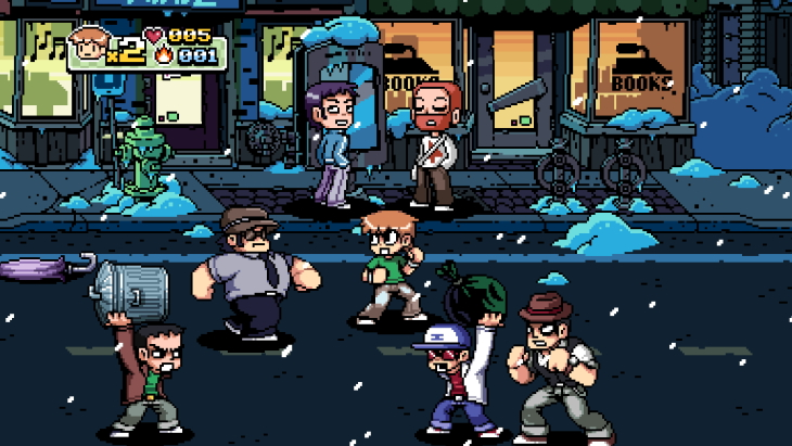 Bryan Lee O'Malley and Anamanaguchi tease Scott Pilgrim vs. the World: The Game News, Possibly Physical Version