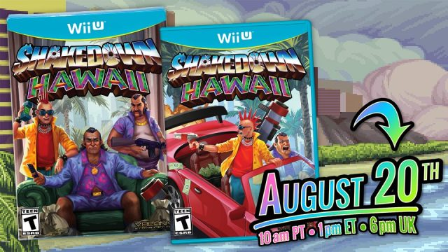 Physical Copies Of Shakedown Hawaii For Wii U Will Be Available This Week