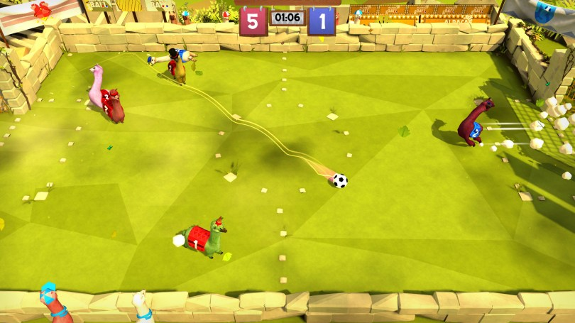 """Alpaca Ball Allstars """"the funniest Soccer Game"""" is releasing on 15th October for Nintendo Switch and PCAnkit GabaGaming Route"""