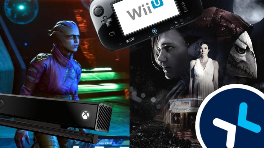 Mass Effect Andromeda, The Quiet Man, Microsoft Kinect, Wii U, and Mixer