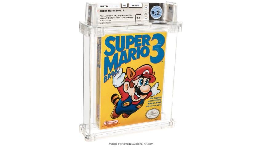 Super Mario Bros 3 Auction Heritage