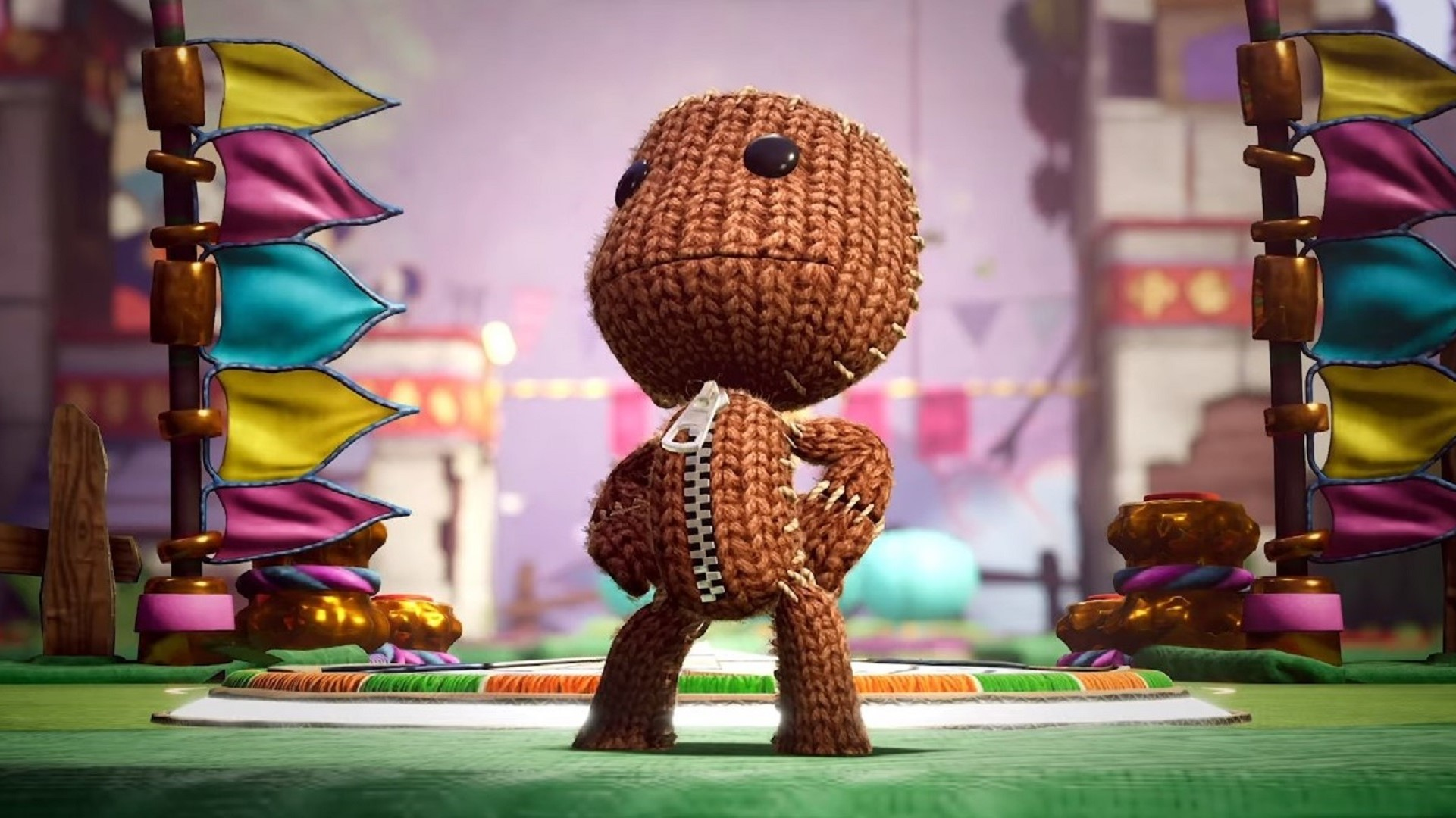 Sackboy: A Big Adventure Update Adds Online Multiplayer, Cross-Saves, and More
