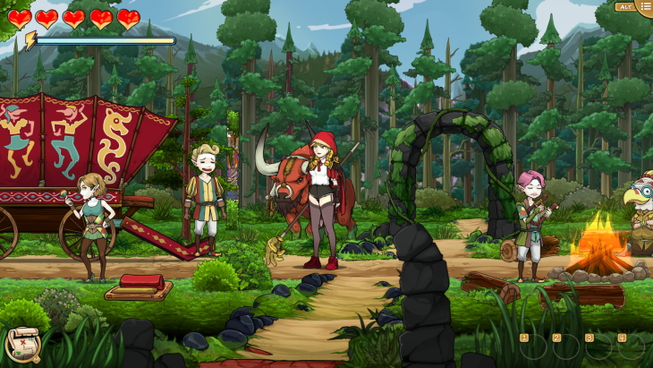Scarlet Hood and the Wicked Wood Skips Steam Early Access for Full Launch April 8