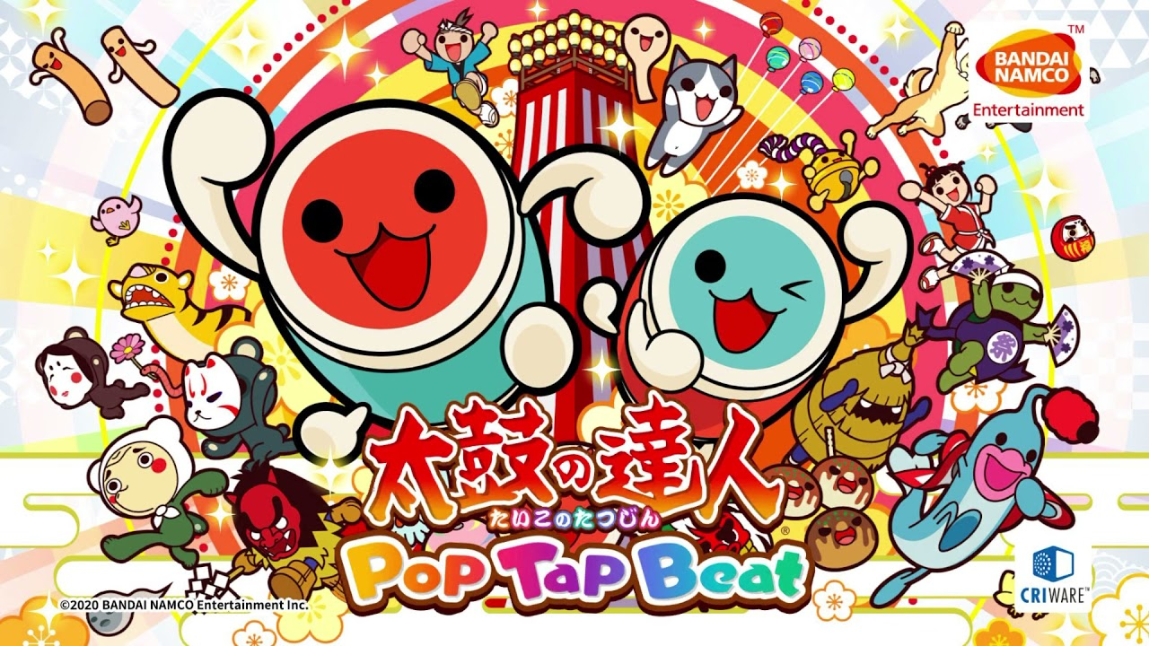 Taiko no Tatsujin: Pop Tap Beat Announced, Now Available