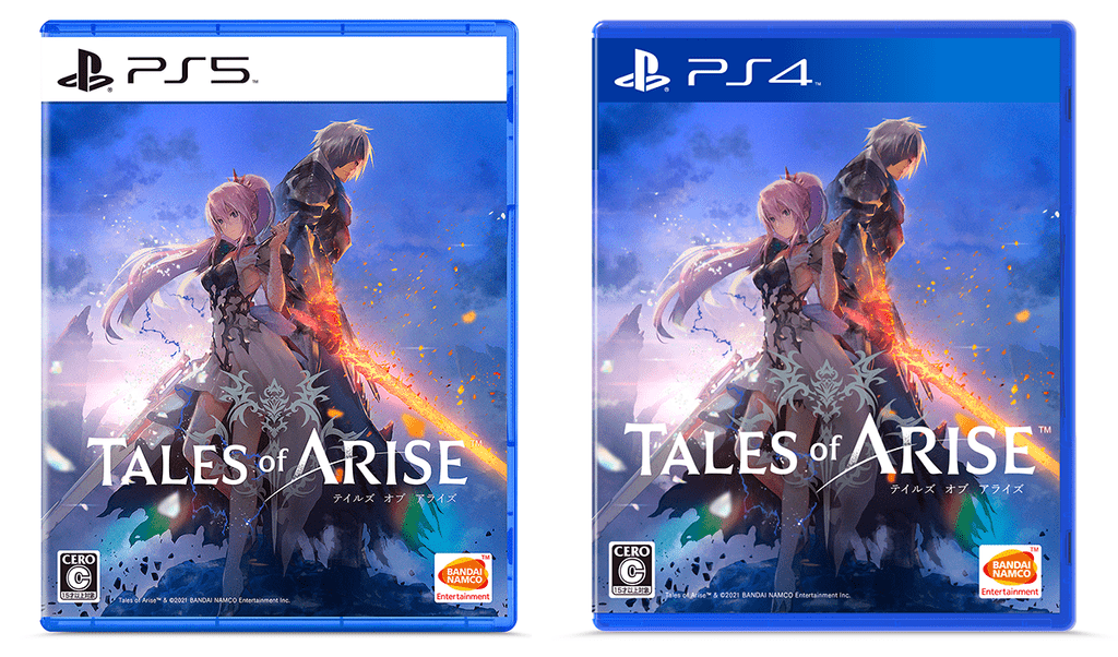 The Box Art of Tales of Arise