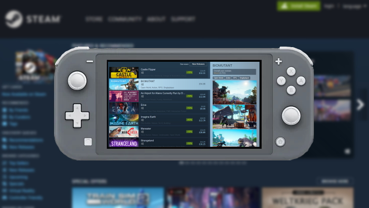"""Valve Reportedly Working on Nintendo Switch Style Portable & Dockable PC  Gaming """"SteamPal;"""" May Launch by End of 2021 – TechGameBox"""