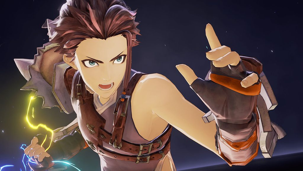 Screenshot of Rowe from Tales of Arise