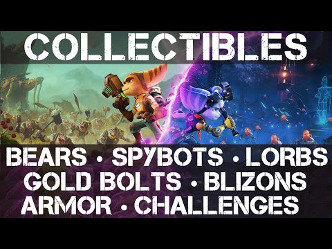 Ratchet and Clank: Rift Apart Guide – How to Find All Collectibles