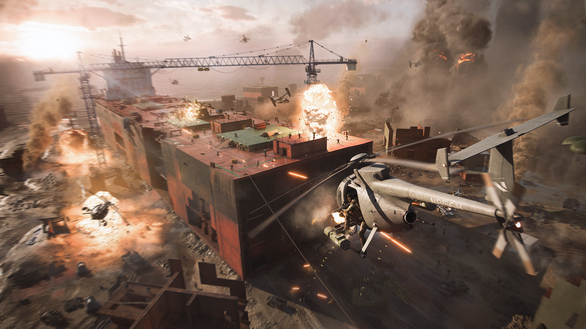 Helicopter Image from Battlefield 2042