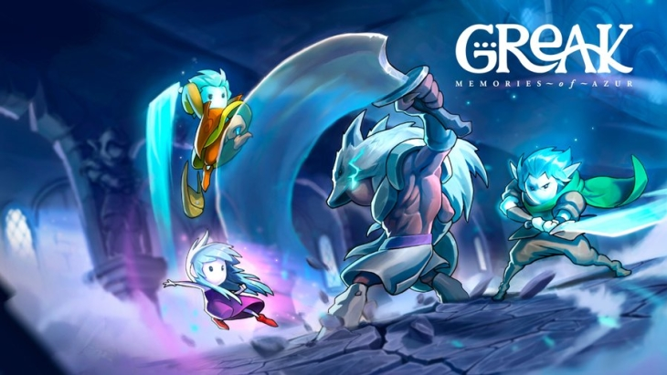 Hand-Drawn Adventure Greak: Memories of Azur Launches August 17