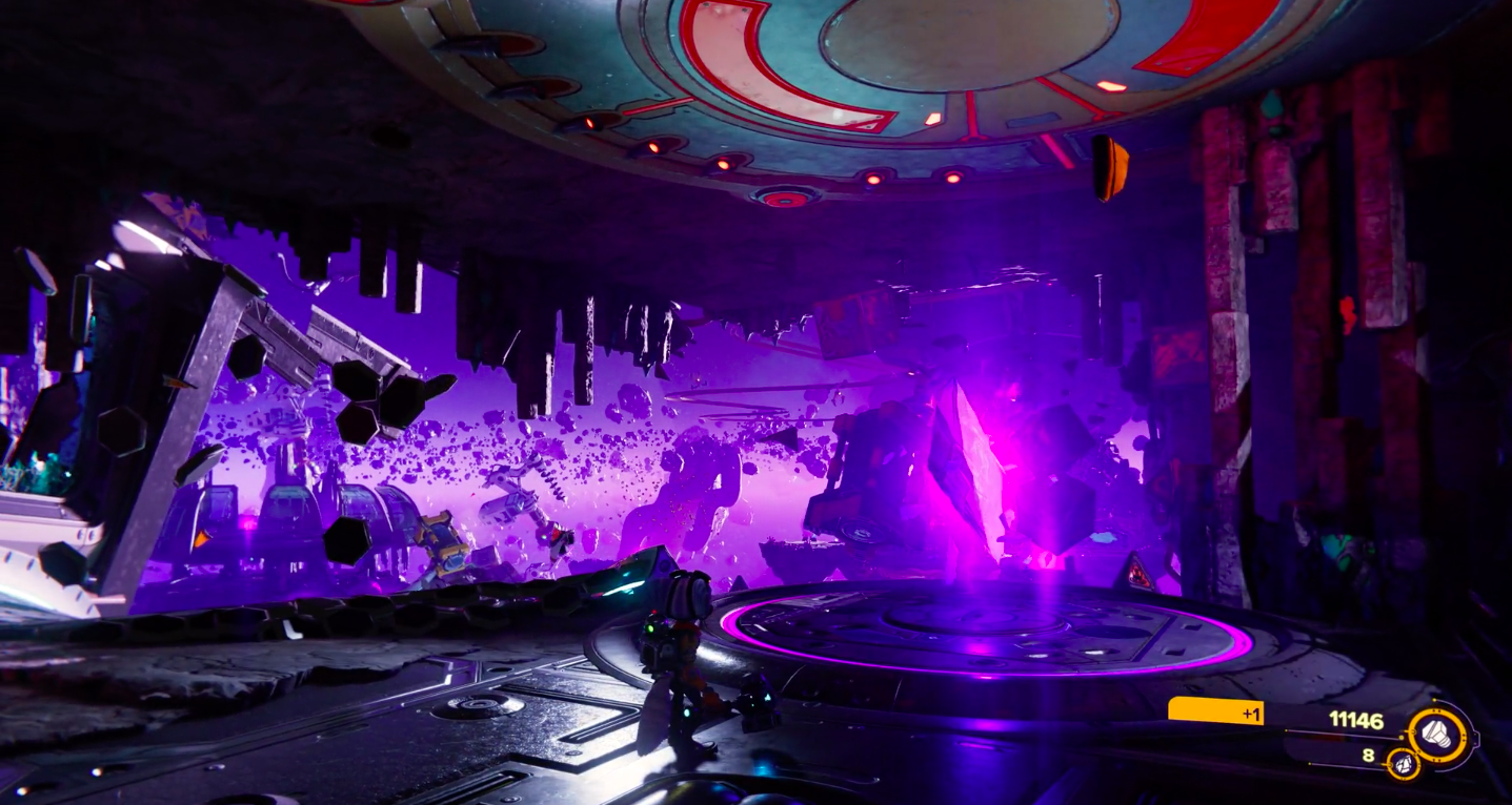 Image from Ratchet & Clank: Rift Apart