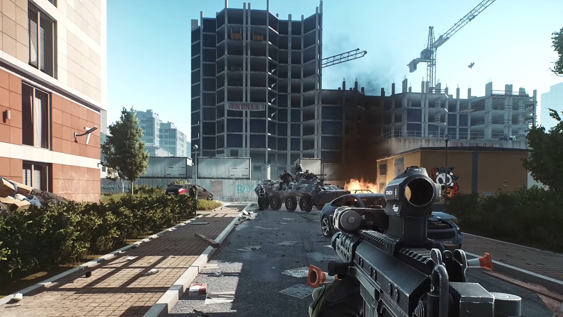 Escape from Tarkov's new trailer shows off upcoming Streets of Tarkov map, again