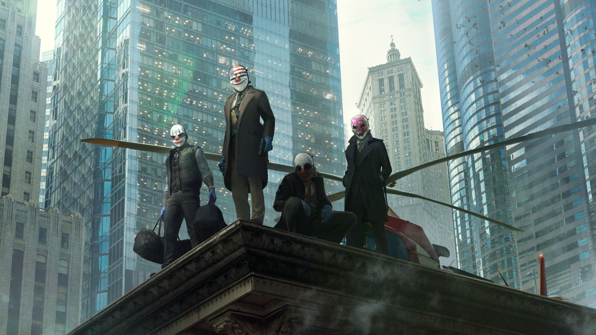 Payday 3 devs reveal new details about the upcoming co-op shooter