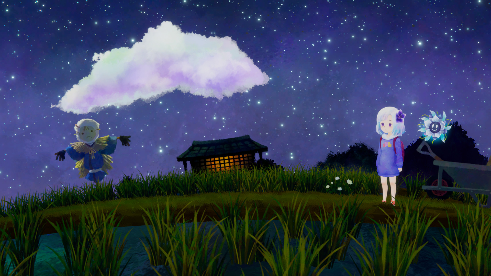 Another Image from Sumire Showcasing it's beautiful artstyle