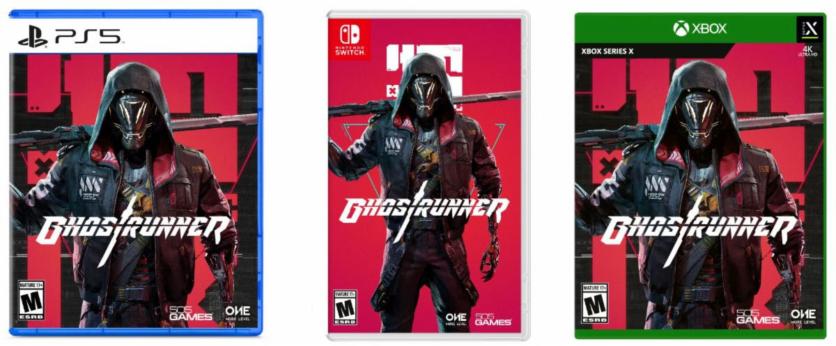 Box art of Ghostrunner on Next-Gen Consoles and Nintendo Switch