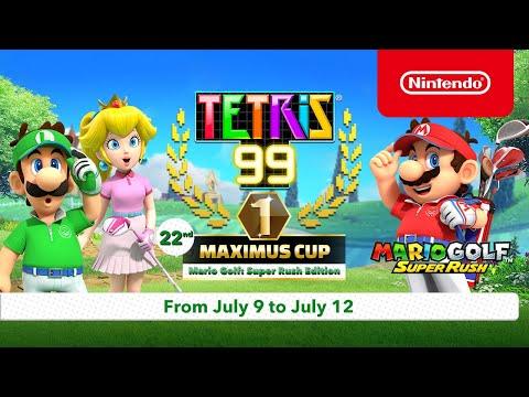 Tetris 99's Next Maximus Cup Introduces A Mario Golf Super Rush Theme