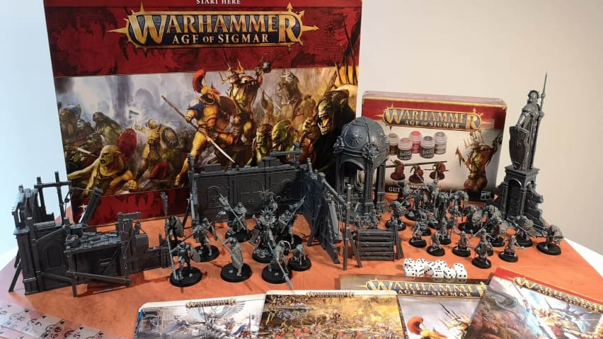 Warhammer Age of Sigmar Starter Set Guides