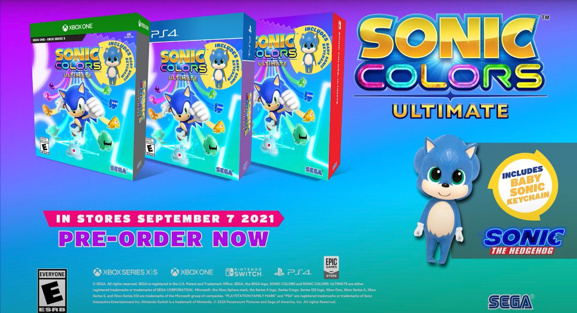 Sonic Colors: Ultimate No PS5 Version