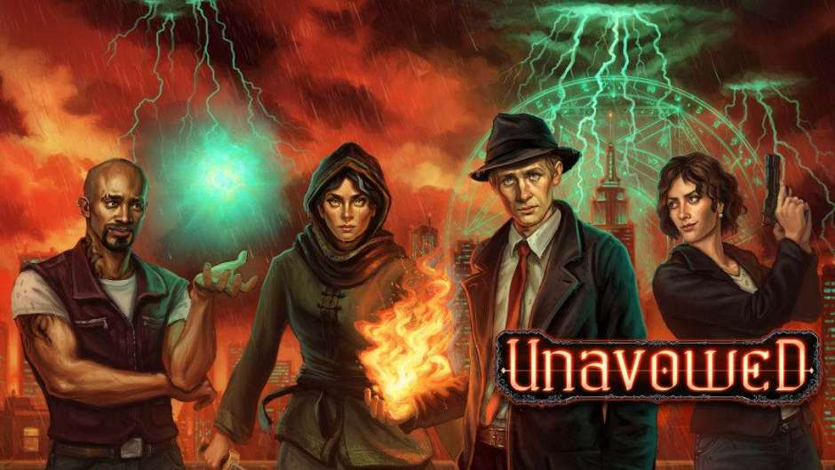 Unavowed out now on Nintendo Switch