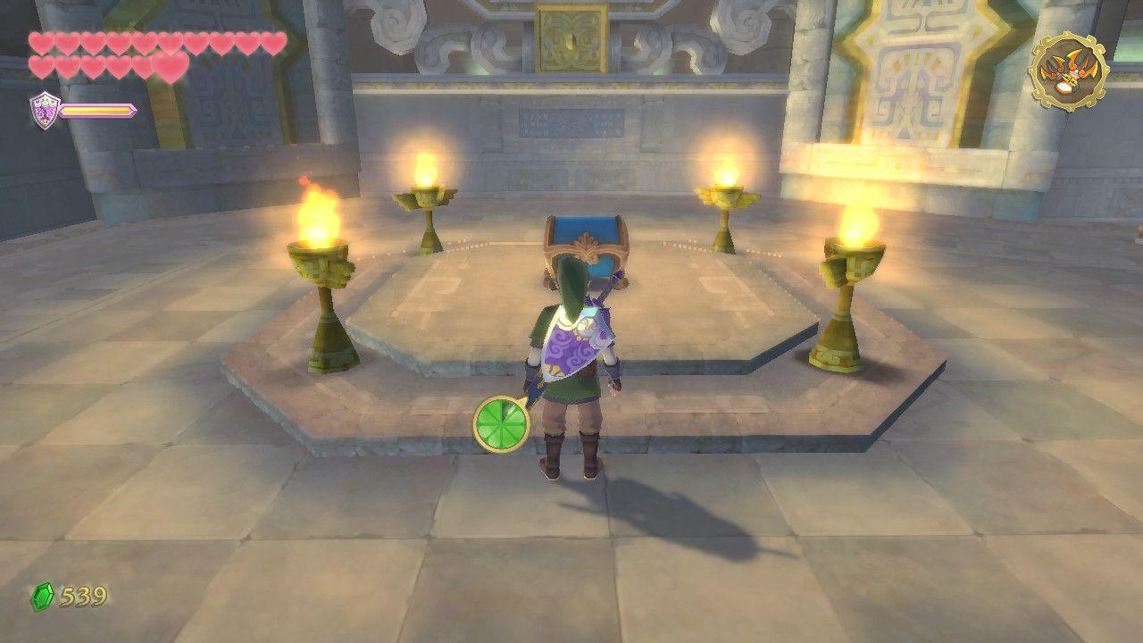 Sky Keep Walkthrough – Zelda: Skyward Sword HD