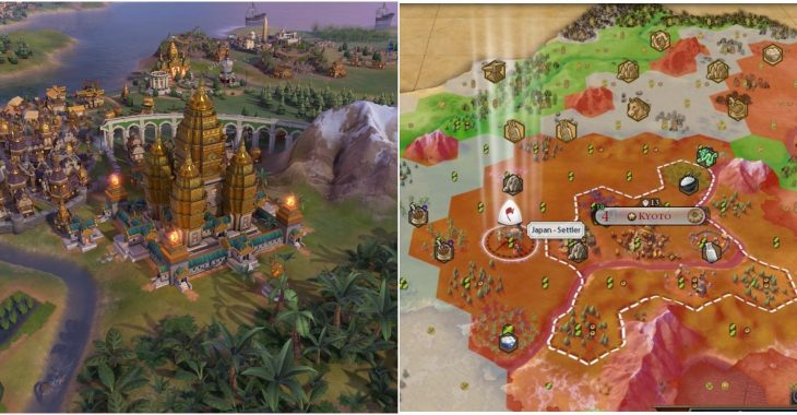 Civilization 6: How Far Apart Should Cities Be | Game Rant