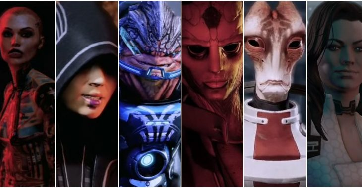 Every Mass Effect 2 Squad Member, Ranked   Game Rant