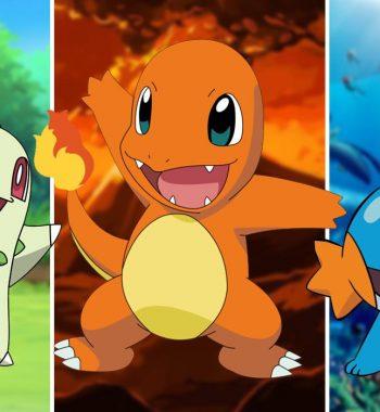Pokemon: Every Generation's Starter Trio, Ranked | Game Rant