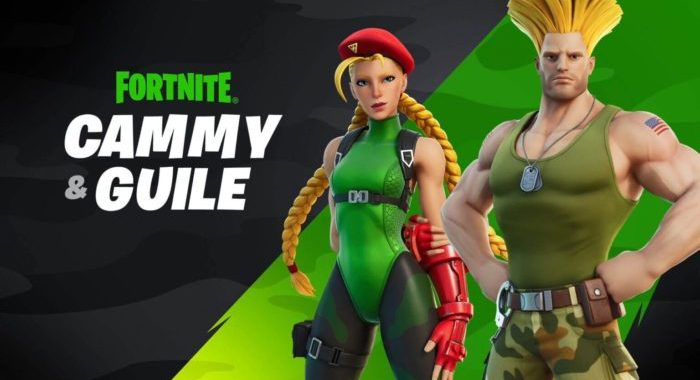 Fortnite Gets Street Fighter's Guile & Cammy in Signature Looks & Gear