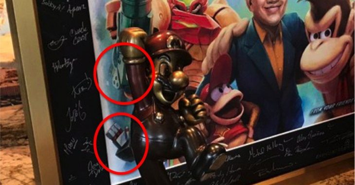 Random: Reggie (Kind Of) Reveals The Secret Character In His Signed Retro Studios Artwork