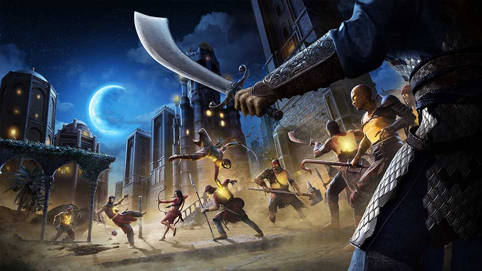 Prince of Persia Sands of Time Remake concept art